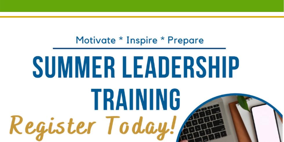 Summer Leadership Training