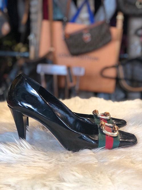 Gucci Patent Leather Pumps