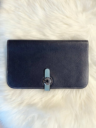 Hermès Togo Dogon Duo Combined Wallet