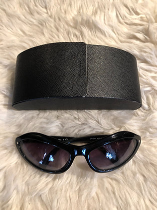 Prada Cat Eye Eyebrow Sunglasses