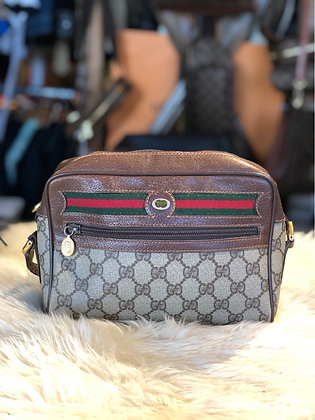 Gucci GG Plus Web Ophidia Crossbody Bag