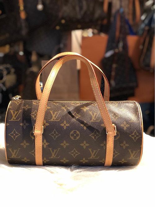 Louis Vuitton Monogram Papillon 28 Handle Bag
