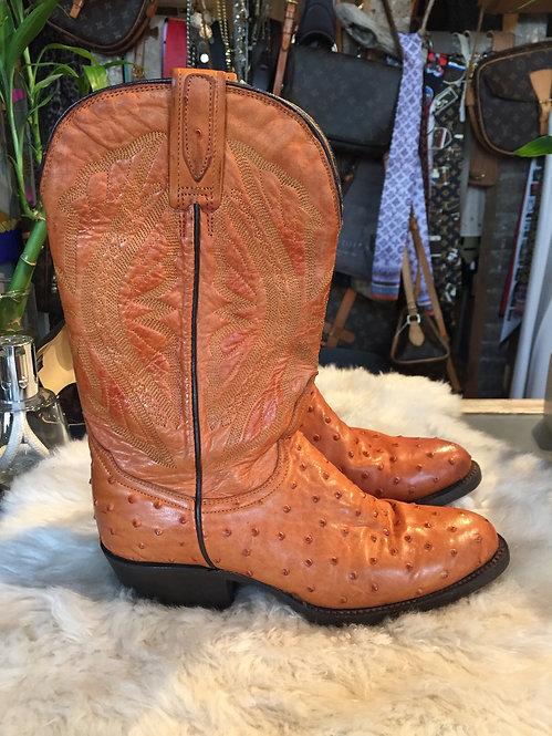 Ostrich Boots