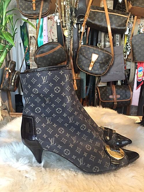 Louis Vuitton Monogram Booties