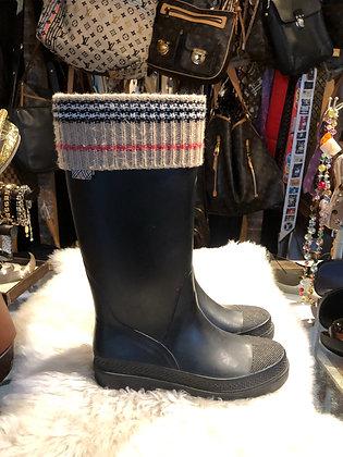 Burberry Mid-Calf Rain Boots