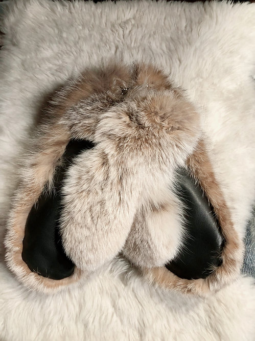 Recycled Fur Mittains