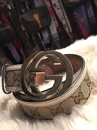 Gucci GG Canvas Belt