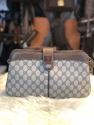 Gucci GG Plus Web Crossbody Bag