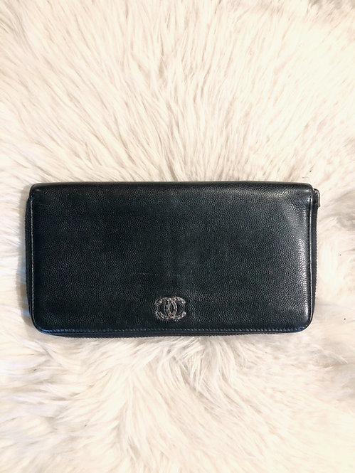 Chanel Caviar CC Wallet