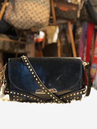 Burberry Abbott Studs Bridle Crossbody Bag