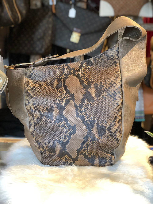 Gucci Python Medium Greenwich Hobo