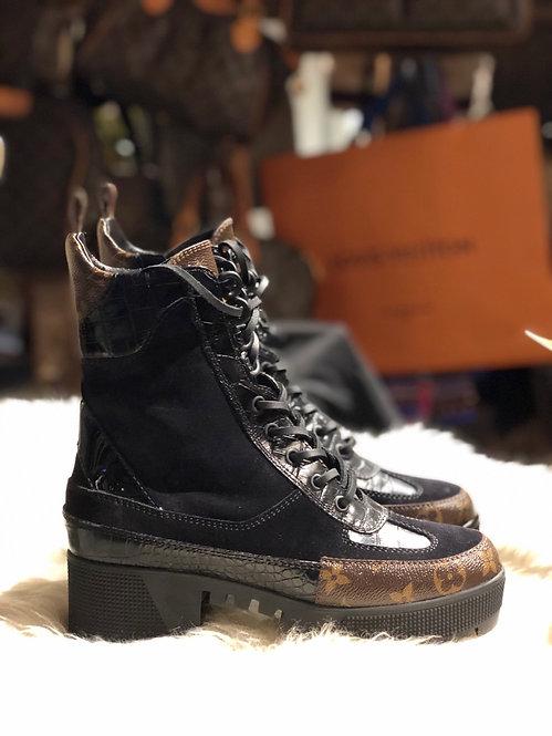 Louis Vuitton Laureate Platform Desert Boots