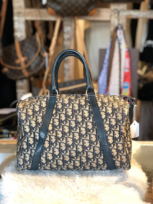 Christian Dior Vintage Diorissimo Trotter Boston Bag