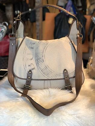 Burberry Canvas Messenger Bag