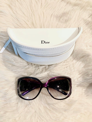 Christian Dior Embellished Oversize Sunglasses