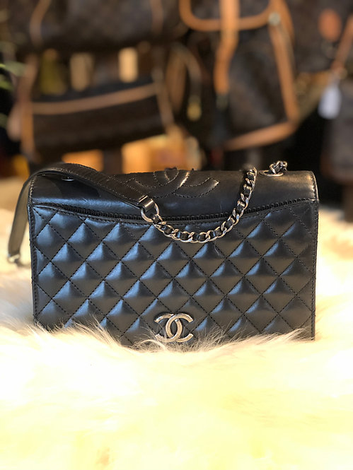 Chanel Ballerine Quilted Flap Bag