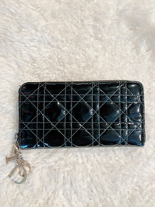 Christian Dior Cannage Continental Wallet