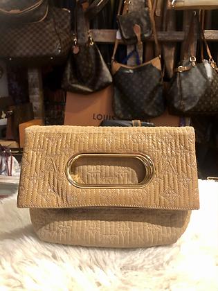 Louis Vuitton Limited Edition Powder Monogram Motard Clutch Bag