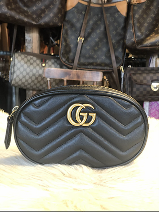 Gucci GG Marmont Matellassé Belt Bag