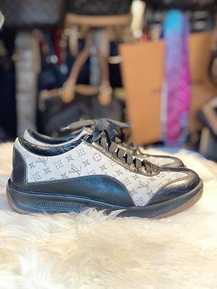 Louis Vuitton Monogram Leather Sneakers