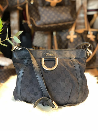 Gucci GG Canvas D-Ring Crossbody Bag