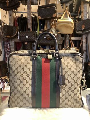 Gucci GG Canvas Briefcase