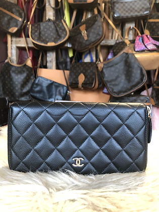 Chanel Quilted Continental Wallet