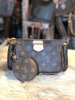 Louis Vuitton Monogram Multi-Pochettes Accessoires