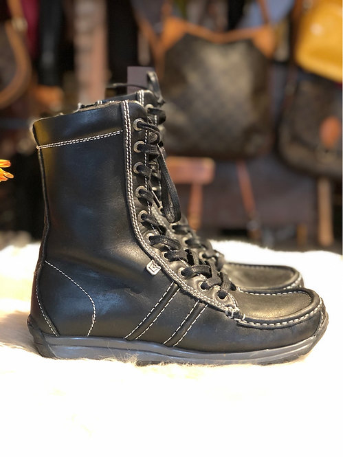 Mag Leather Boots