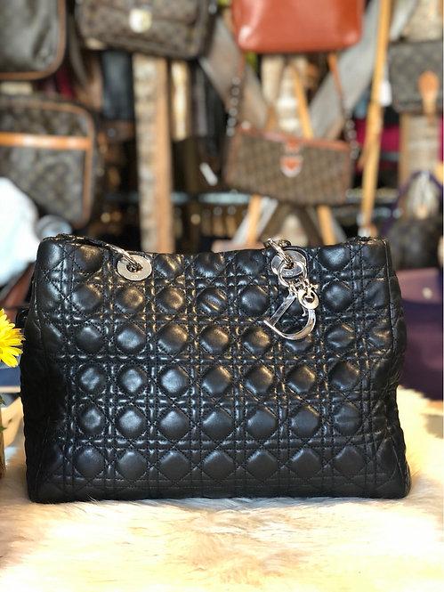 Christian Dior Lady Dior Shopper Tote