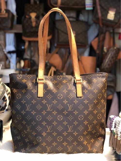Louis Vuitton Monogram Cabas Mezzo Tote