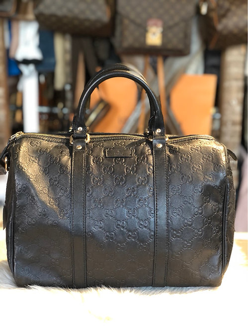 Gucci Signature Joy Boston Bag