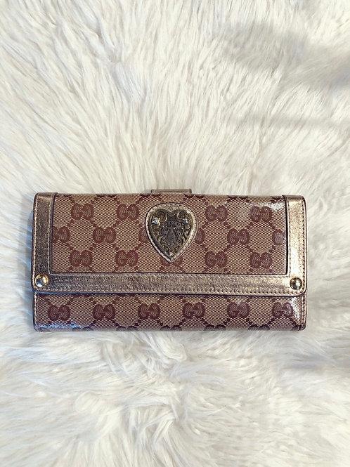 Gucci GG Crystal Babouska Wallet