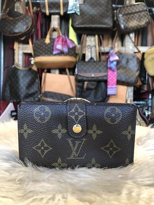 Louis Vuitton Monogram Viennois French Purse Wallet