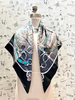 Hermès Cavalcadour Silk Scarf