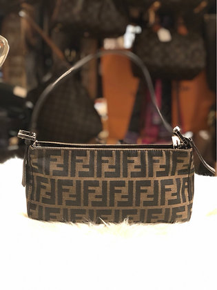 Fendi Zucca Shoulder Bag