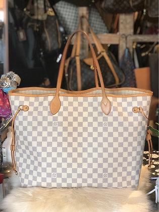 Louis Vuitton Damier Azur Neverfull GM