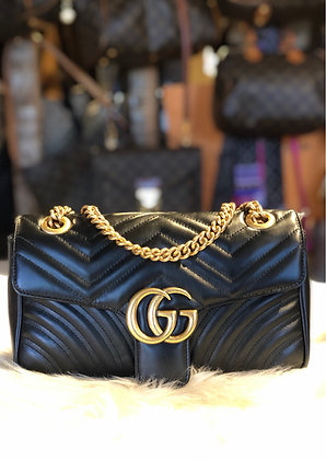 Gucci Small GG Marmont Matelassé Shoulder Bag