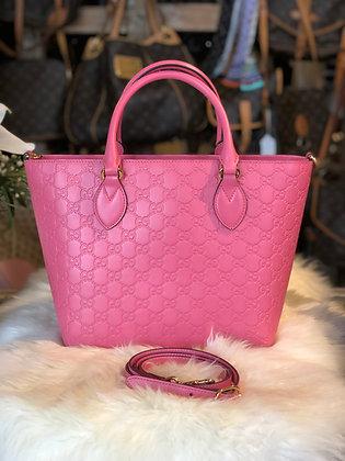 Gucci Guccissima Signature Top Handle Bag