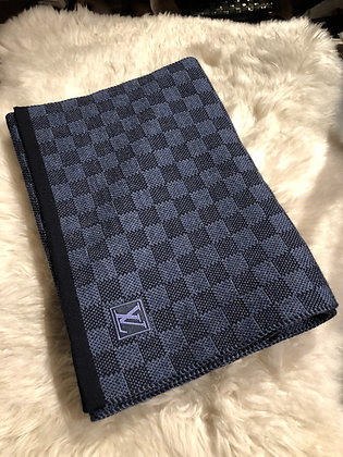 Louis Vuitton Damier Wool Scarf