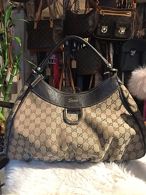 Gucci  GG D Ring Hobo