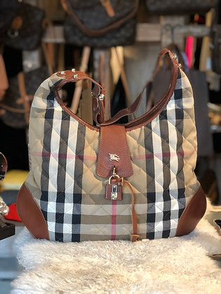 Burberry House Check Brooke Hobo