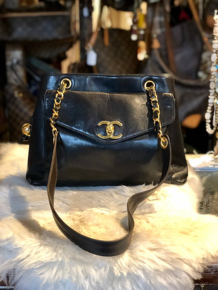 Chanel Vintage Leather Tote