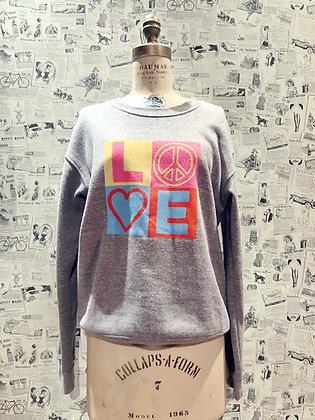 Riot Peace & Love Sweatshirt