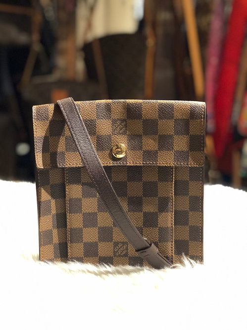 Louis Vuitton Damier Ébène Pimlico Bag