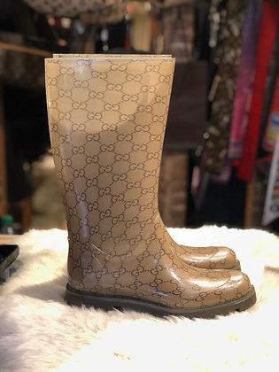 Gucci GG Rain Boots