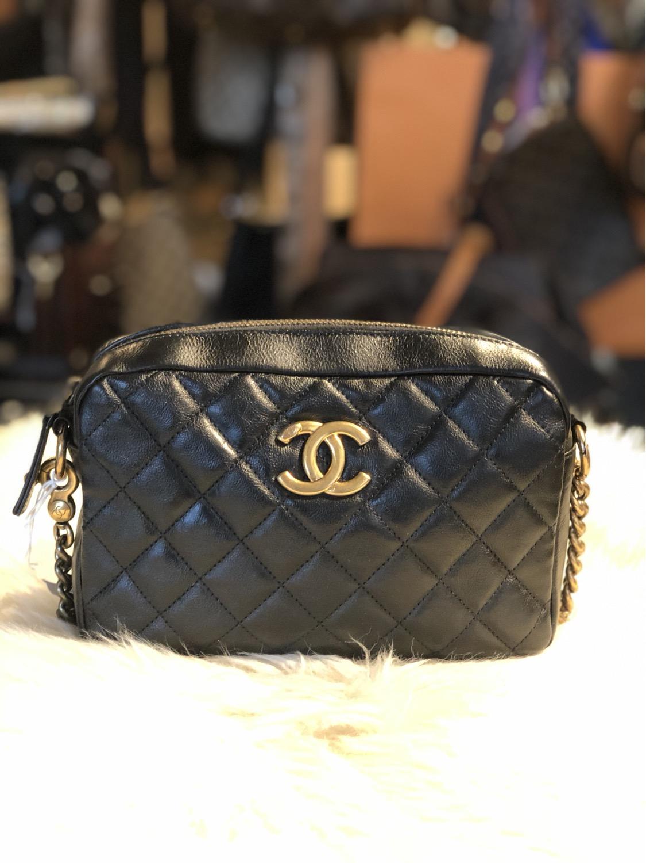 Chanel CC Crown Camera Bag