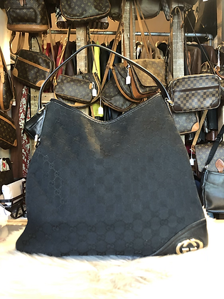 Gucci Medium GG New Britt Hobo