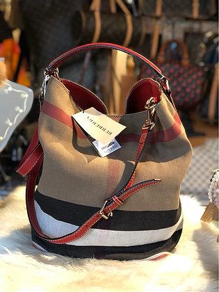 Burberry House Check Medium Ashby Bag