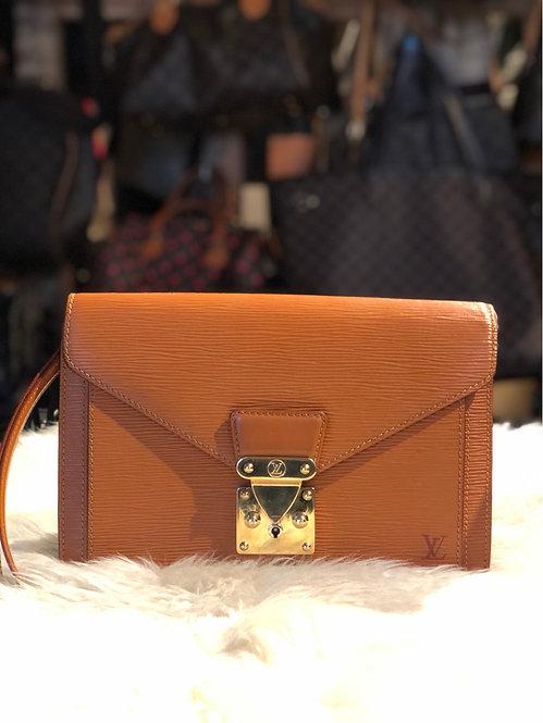 Louis Vuitton Epi Pochette Sellier Dragonne